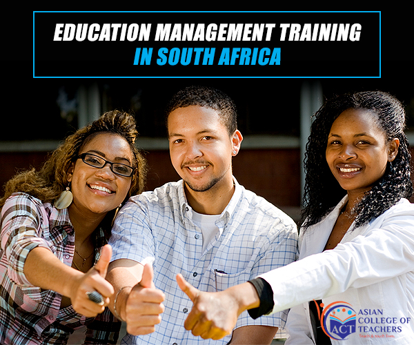 Education management training in South Africa